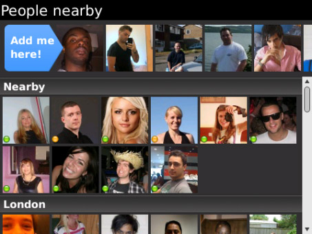 <b>Badoo v1.13.1 for blackberry phone</b>