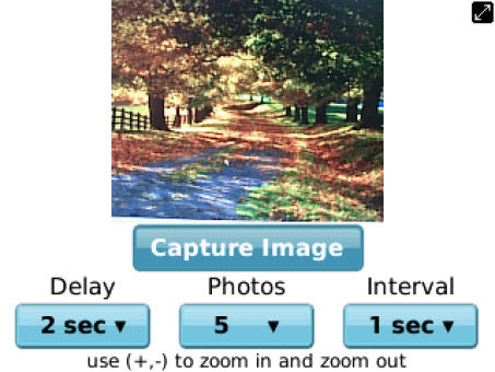 <b>Capture Multiple Pics In One Go 3.2 for 99xx apps</b>