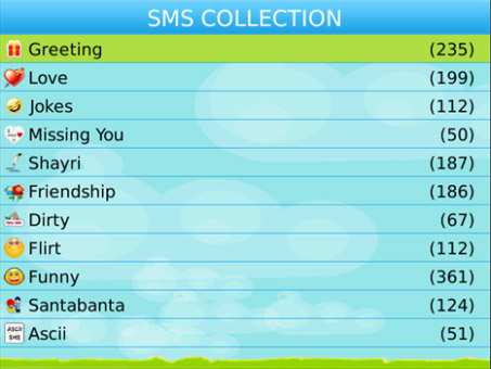 <b>SMS Collection 2.0 for blackberry 93xx apps</b>