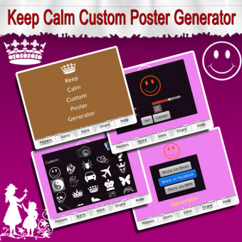 <b>Keep Calm Custom Poster Generator v1.0</b>
