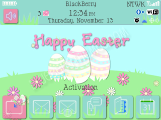 <b>Happy Easter 2013 for bb 89xx themes os5.0/4.6</b>