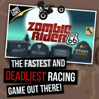 <b>Zombie Rider 1.0.6 for blackberry playbook games</b>
