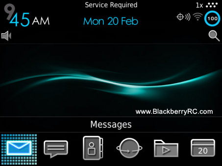 <b>BEAT ELEGANT for blackberry 9900/9930/9981 OS7 th</b>