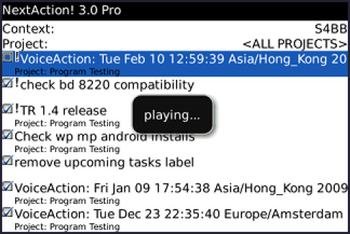 <b>NextAction! Professional Edition 3.3.3</b>