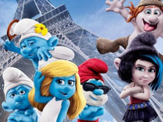 <b>The Smurfs 2 - wallpaper 02</b>