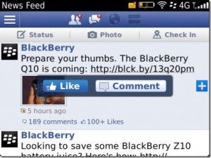 <b>Facebook v4.1.0.12 BETA for bb os7.0-7.1 apps</b>