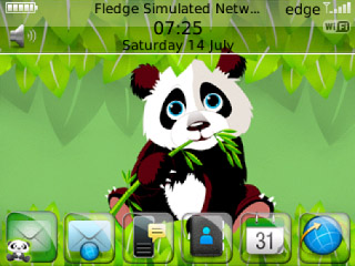 <b>Cartoon Panda theme for 85xx,93xx themes</b>