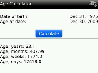 <b>Age Calculator Pro v1.2</b>