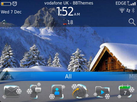 <b>Snowy 7 for bb 9900, 9930, 9981 OS7 themes</b>