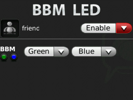 <b>LED For BBM Contacts 1.1</b>