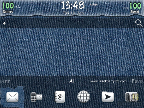 <b>Blue Jeans theme for 97xx, 9650 os6</b>