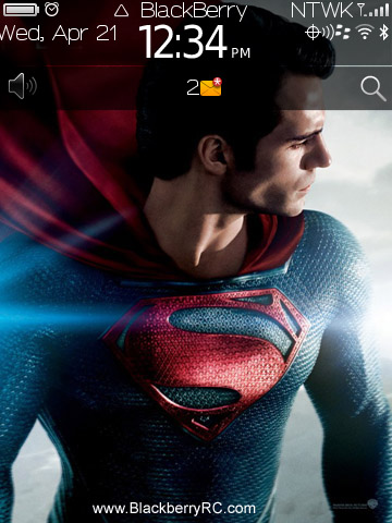 <b>Man of Steel movie theme for torch 9800 os6</b>