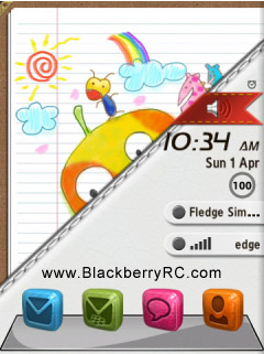 <b>3D icon theme - Color Leather ( 95xx storm os5 )</b>