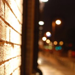 Night Street wallpaper