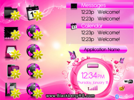 <b>ROSY THEME for 95xx storm os5.0</b>
