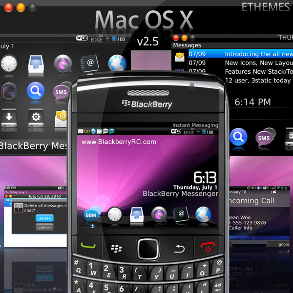 <b>Mac OS X style for 96xx tour themes</b>