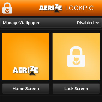 <b>Aerize Lockpic 10.2.0.1049 for blackberry 10 & pl</b>