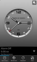 BerryLeaks Presents:Porsche Design Clock for Z10