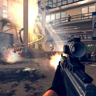 "<b>Modern Combat 4 for Blackberry World's ""25 Days</b>"