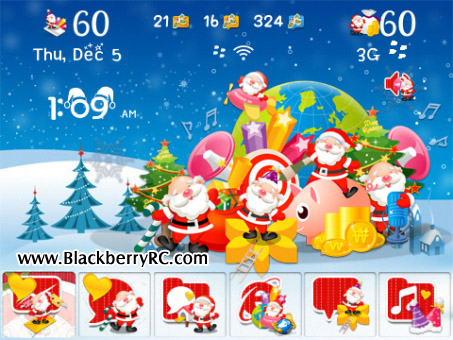<b>Happy Xmas for 96xx,97xx,9800 os6 themes</b>