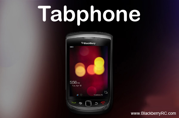 <b>Tabphone 9800 torch theme</b>
