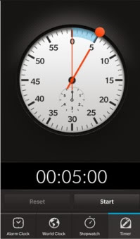 <b>Porsche Design Clock for BB10 model</b>