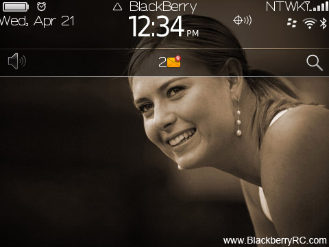 <b>Maria Sharapova blackberry theme(93xx,9650,97xx o</b>