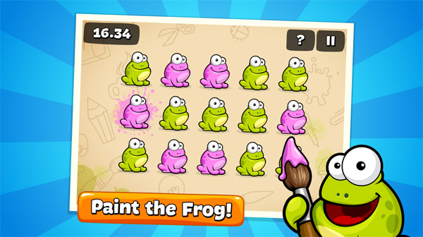 <b>Tap the Frog HD v1.5.1 for BlackBerry 10 game</b>