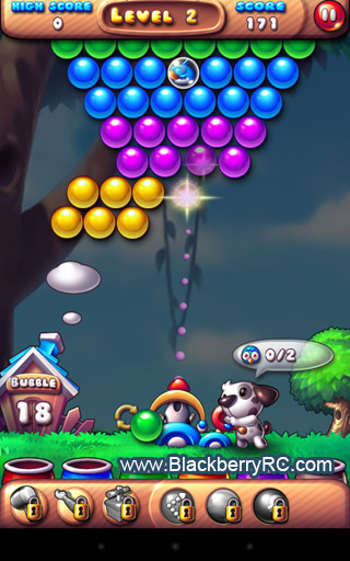 <b>Bubble Bird Rescue 1.1.6 blackberry game</b>