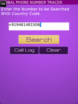 <b>Global Phone Number Tracer 1.0.1</b>