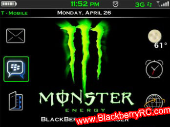 <b>Monster Energy 480×360 OS 5 themes</b>