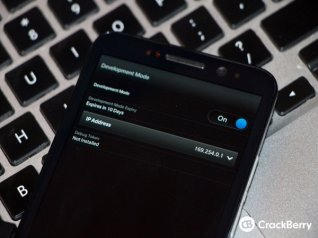 <b>How to use Snap on BlackBerry 10.2.1 to install A</b>