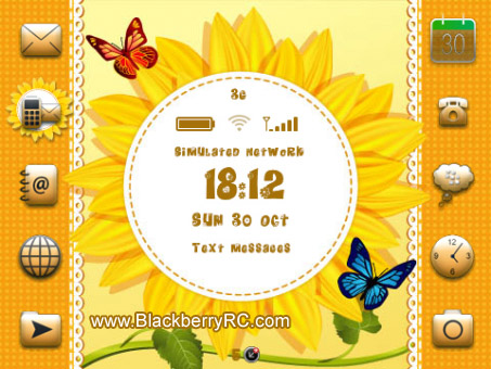<b>Sunflowers One 9300,9330 os6 theme</b>
