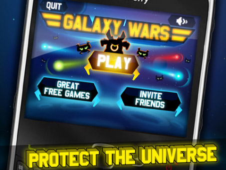 <b>Galaxy Wars 1.0.6 for blackberry game</b>