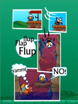 <b>Fluffy Bird vs Flappy Fish</b>
