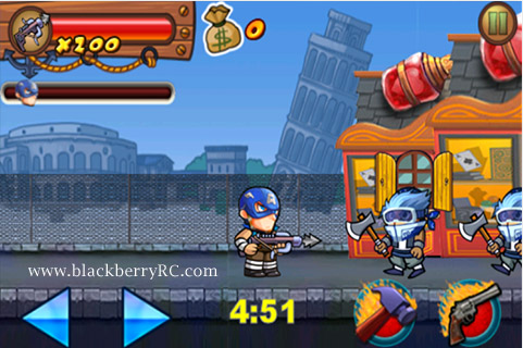 Rambo Pirate v1.0.7 for BB10 Game