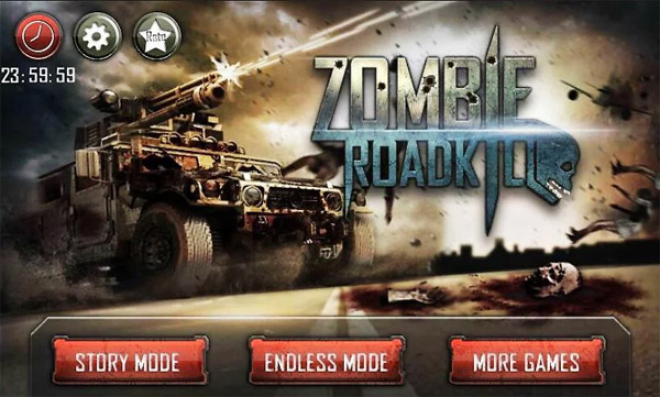<b>Zombie Roadkill 3D for blackberry 10 action game</b>