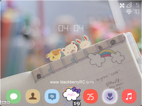<b>Vivid Theme for blackberry 89xx,9000 os5.0</b>
