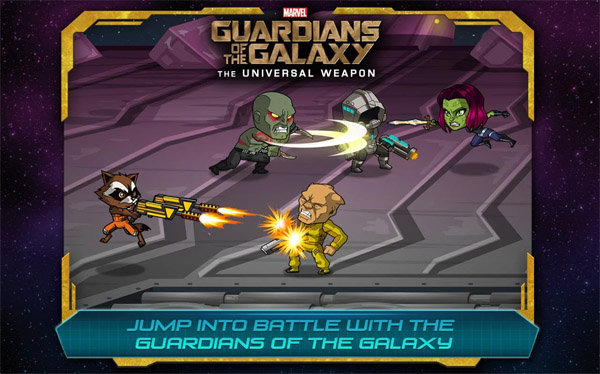 Guardians of the Galaxy: TUW v1.2 for BlackBerry 10 game