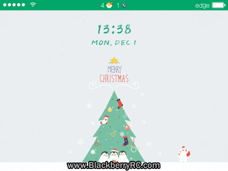 <b>Merry Christmas theme for 89xx, 9000 os5.0</b>