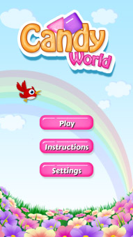 <b>Candy World 1.0.2 for classic games</b>