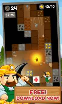 <b>Gem Mine - Pocket Gold Craft v1.3.0.1</b>
