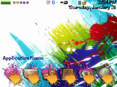 <b>Paint Splash Theme</b>