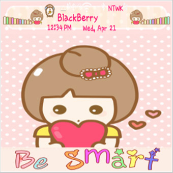 <b>Be sMart for blackberry 99xx themes</b>