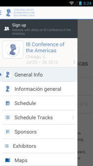 <b>IB Conference of the Americas</b>
