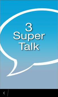 <b>3 Super Talk for blackberry Q10 apps</b>