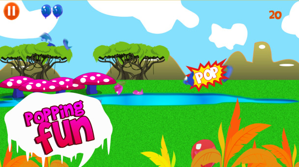 Balloon Blast v1.1 for blackberry 10 game