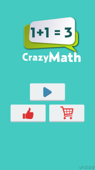 <b>Crazy Math 1.0 for blackberry 10 game</b>