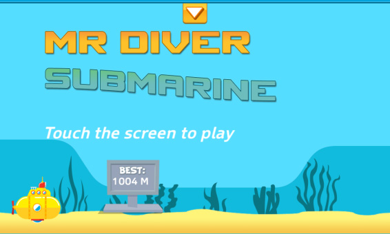 <b>Mr Diver 1.0 for blackberry 10 game</b>