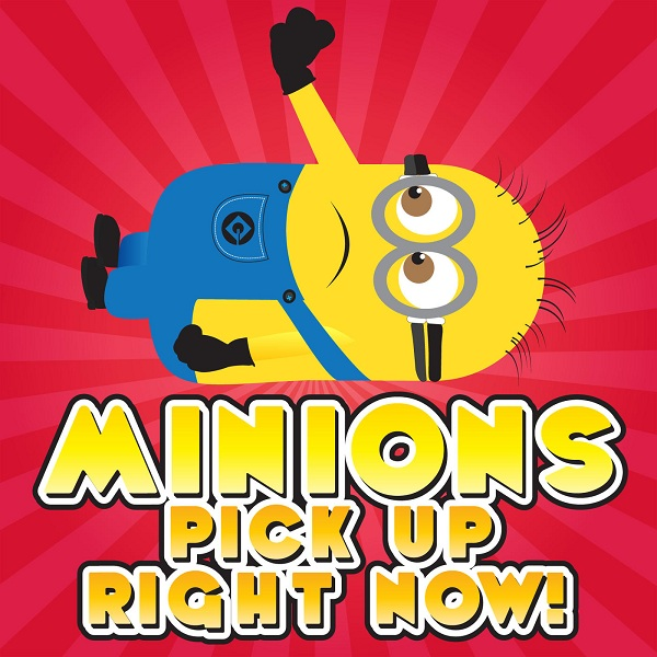 <b>The Funny Tone Guy - Minions Pick up Right Now</b>